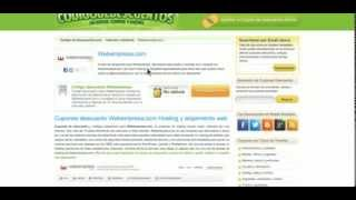 Cómo utilizar el Cupón descuento Webempresa.com