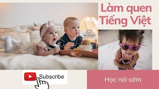 Learn to speak early , Early education for children : Boys, Girls, Old Man, Old Lady
