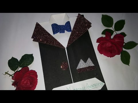 #suit                               greeting card tutorial/ #piano greeting card for someone special