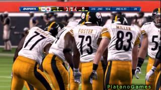 NFL 2012 SNF Wk 7 - Pittsburgh Steelers (2-3) vs Cincinnati Bengals (3-3) 1st Half - Madden