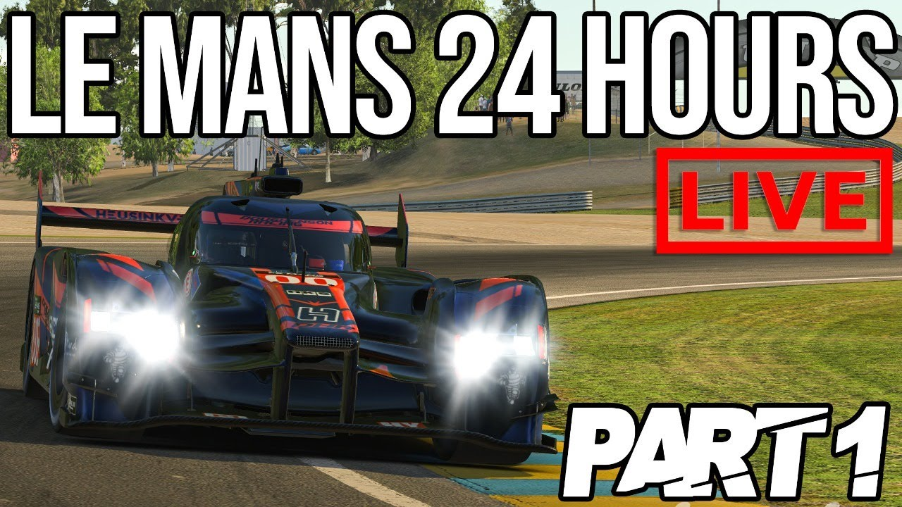The iRacing 24 Hours Of Le Mans