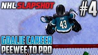 NHL Slapshot (Wii)   Peewee to Pro (Goalie Career)   EP4   LAST PEEWEE GAME