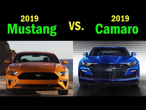 Chevy Camaro SS vs. Ford Mustang GT: VISUAL COMPARISON