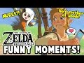 I FOUND ZELDA'S NUDES?! (Zelda: Breath Of The Wild Funny Moments)