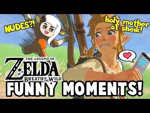 Thumbnail: I FOUND ZELDA'S NUDES?! (Zelda: Breath Of The Wild Funny Moments)
