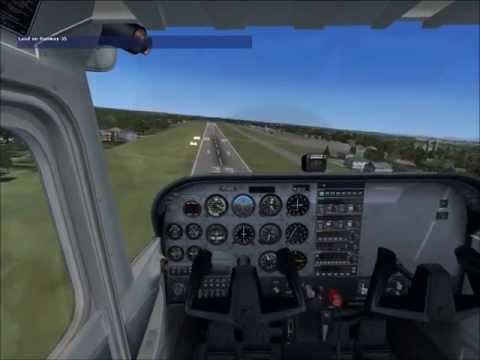 FSX - private pilot licence checkride