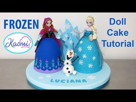 Youtube Frozen Doll Cake