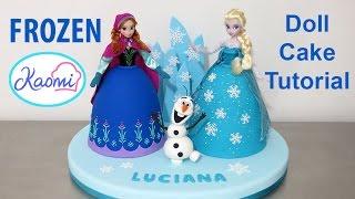 Frozen Princess Cake /Torta de las princesas de Frozen