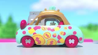 SHOPKINS CUTIE CARS | Splash 'n' Go SONG | Color Change