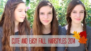 Cute and Easy Fall Hairstyles 2014! Thumbnail