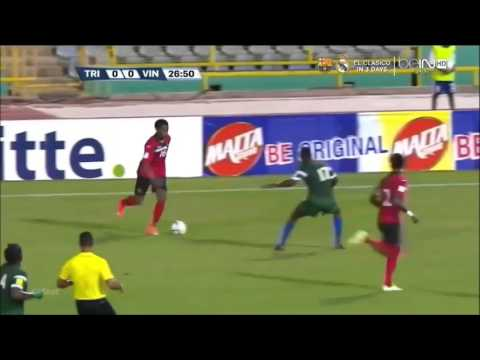 Levi Garcia debut - Trinidad and Tobago wonder kid