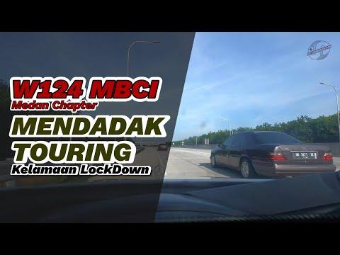 Mercedes Benz W124 MBCI Medan Chapter MENDADAK Touring ke Parapat #carvlogindonesia