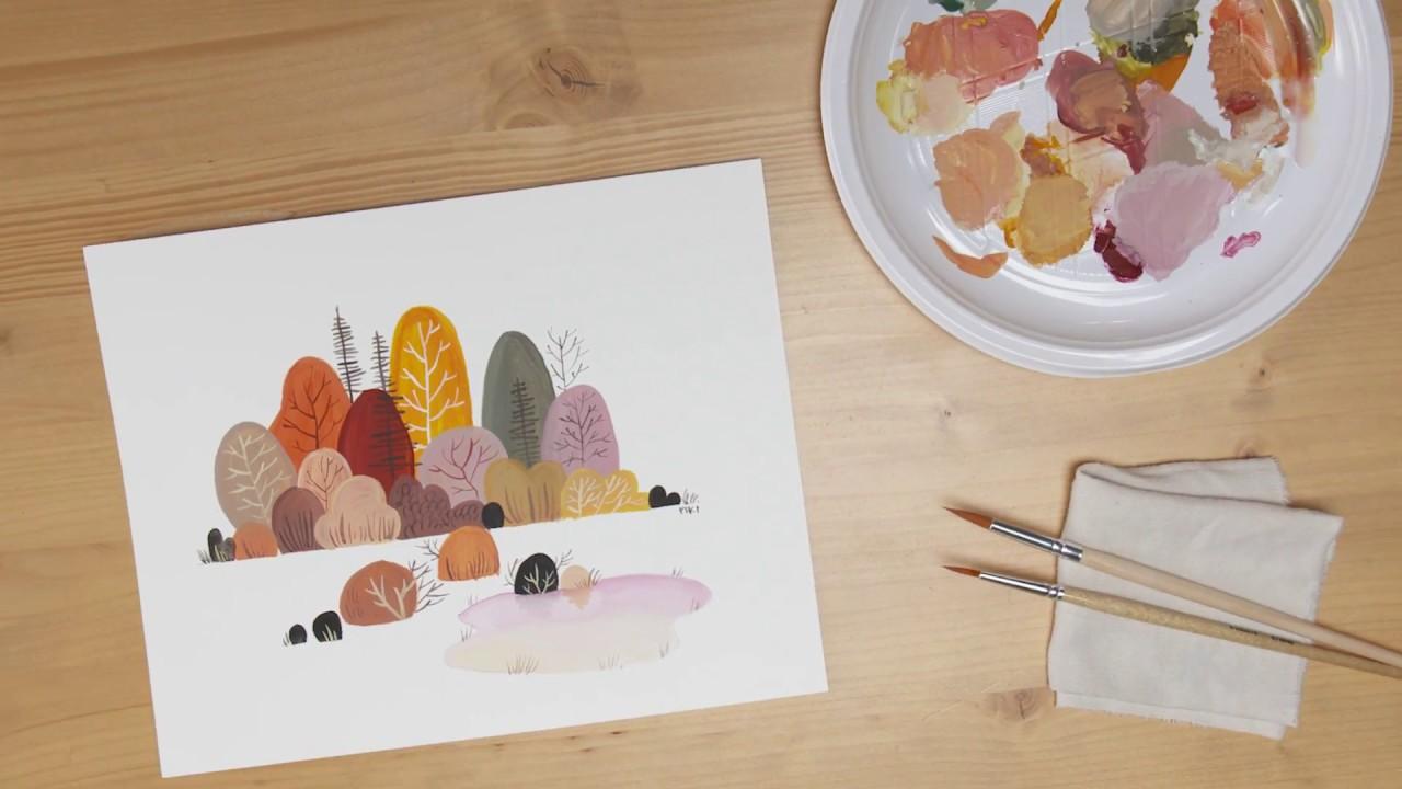 Disegnare Con Le Tempere Fabriano E Zanichelli Per Il Disegno