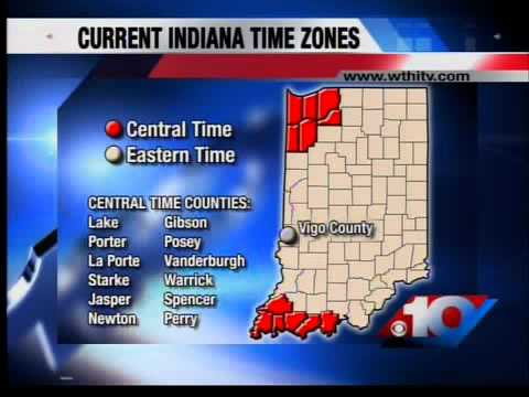 Ind. to move to Central time zone?