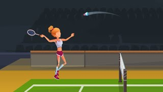 Power Badminton // Gameplay