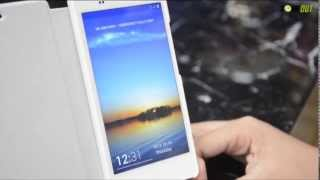 gionee elife e6 physique and hands on video demonstration
