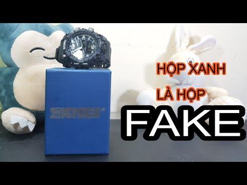 Hộp Skmei Xanh Là Hộp Fake!!! Vì Sao Thế ?