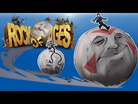 ROCK OF AGES - BOULDER RACING! With Ohmwrecker!