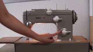 Vintage Nähmaschine Pfaff 260 Teil 1