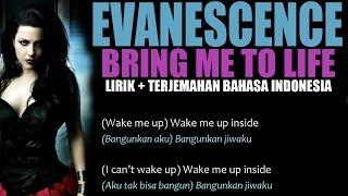 Evanescence - Bring me to Life (Video Lirik dan Terjemahan Bahasa Indonesia)