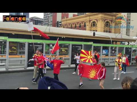 Australia Day Parade - Melbourne 2017