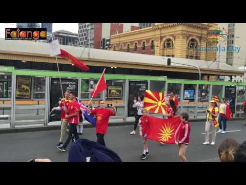Australia Day Parade - Melbourne 2017