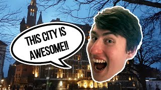 Cat Cafe in Germany! (Aachen Vlog)