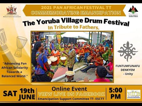 2021 Virtual Yoruba Village Drum Festival