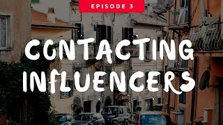Shopify Strategy: Contacting Influencers | eCom Dudes