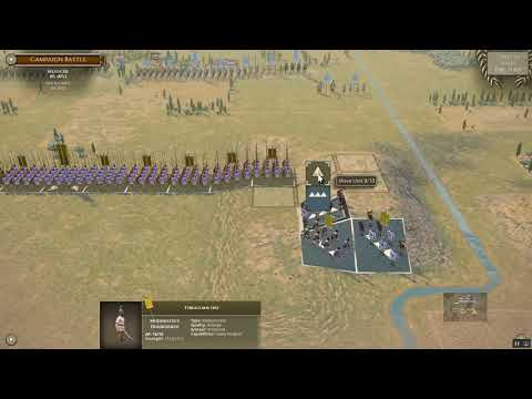 Field of Glory 2- Elephant charge at Ipsos