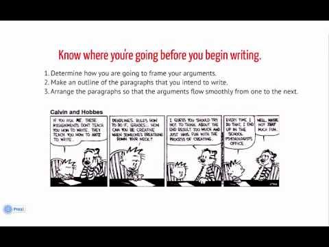 Writing Expository Essays - YouTube