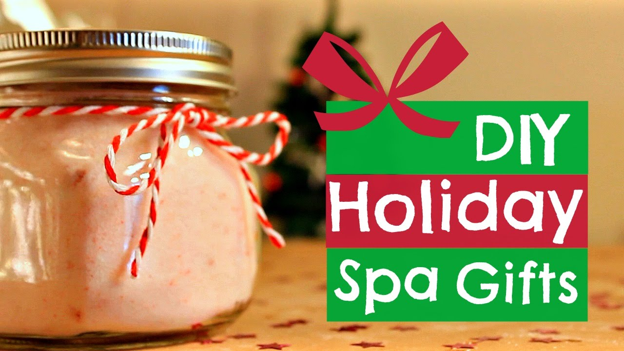 3 diy spa holiday gift ideas youtube