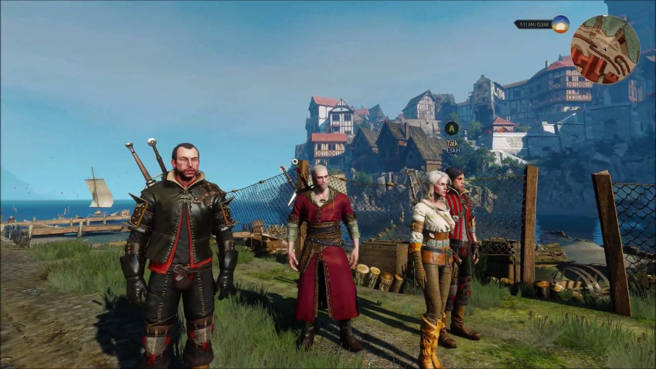 New Enhanced Witcher 3 Mod Lets Geralt Have Any of 25
