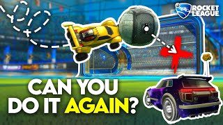 I made Rocket League Players Prove They Can Hit Their Best Goals..