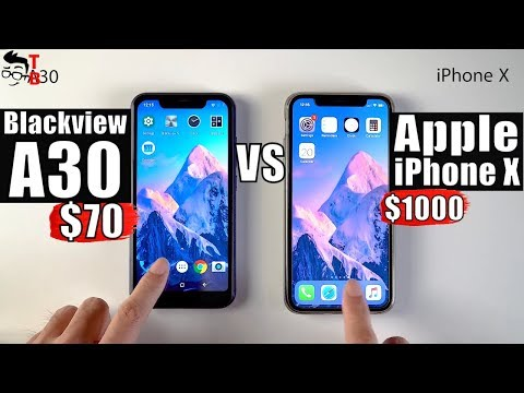 Blackview A30: The Cheapest iPhone X Clone! (Hands-on Preview)