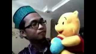 Lipsing lagu india with winnie the POOH