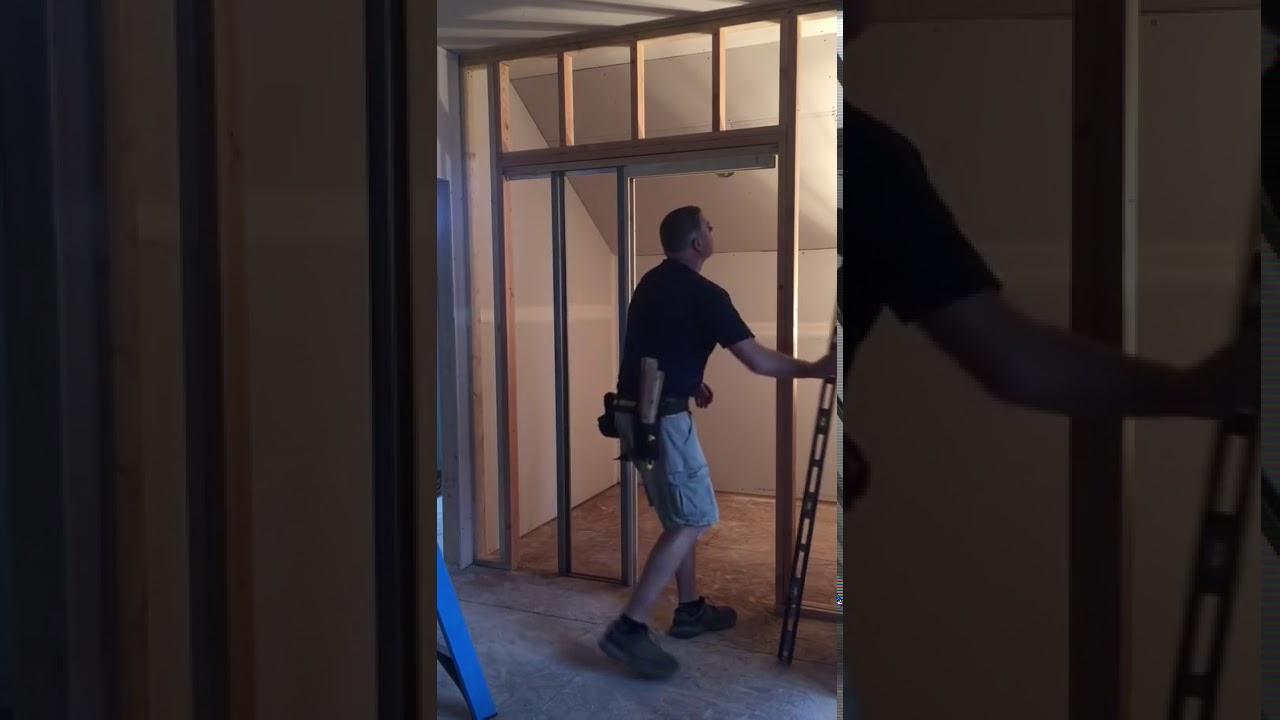 Christners Heavy Duty Pocket Door Frame Installation Youtube