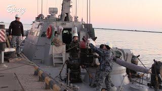 ООС Військові моряки провели навчання з мінування ділянки Азовського моря.