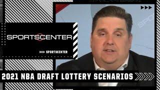 2021 NBA Draft Lottery: Best and worst case scenarios   SportsCenter