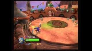 Skylanders Giants Pop-Fizz Gameplay (Best of the Beast Upgrade Path)
