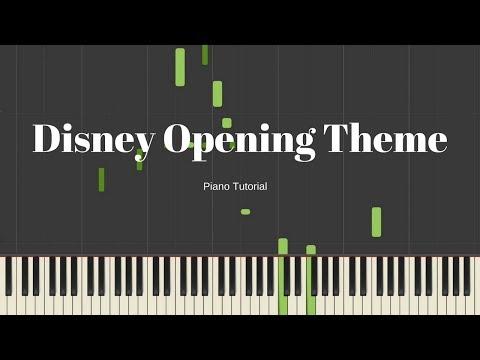 Disney Opening Theme Tutorial [Synthesia]