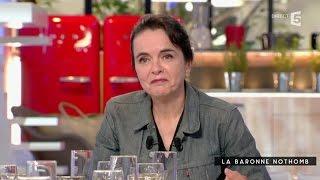 Amélie Nothomb, la baronne - c à vous - 07/09/2015