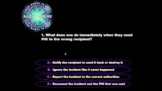 HI 450 Who Wants to be a Millionaire Tutorial