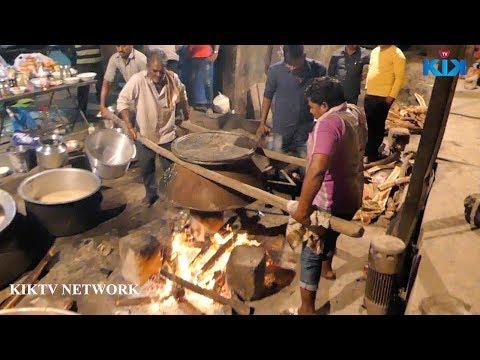 Traditional Mutton Biryani Recipe | World Famous Hyderabad Goat  Biryani  || Street Food
