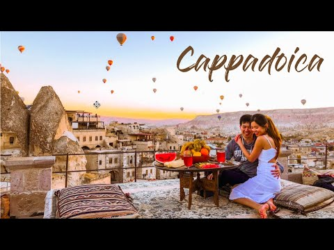 WHERE I STAYED AND WHAT I ATE, DID   CAPPADOCIA HOT AIR BALLON TURKEY TRAVEL 2019 Part 1  LAMHEATHER