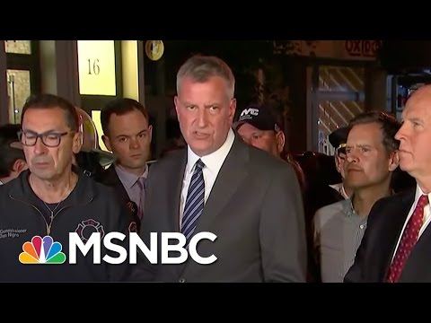 NYC Mayor Bill De Blasio: Explosion Was An 'Intentional Act' | MSNBC