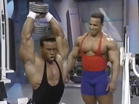 Flex Magazine Bodybuilding Video Series  Vol  4  Triceps & Shoulders