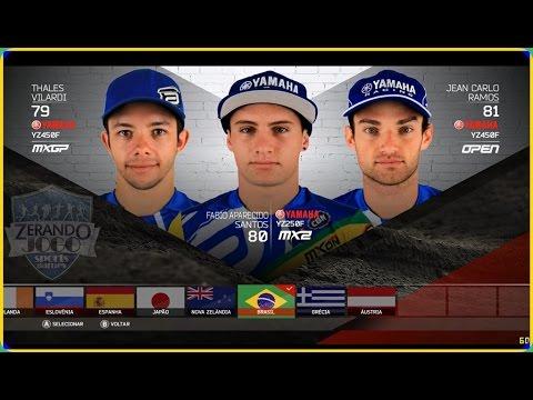 MXGP 2 - MONSTER ENERGY FIM MXON - BRASIL - Thales Vilardi,Jean Carlo Ramos , Fabio aparecido santos