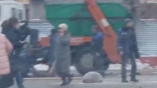 Взрыв у станции  метро в Москве
