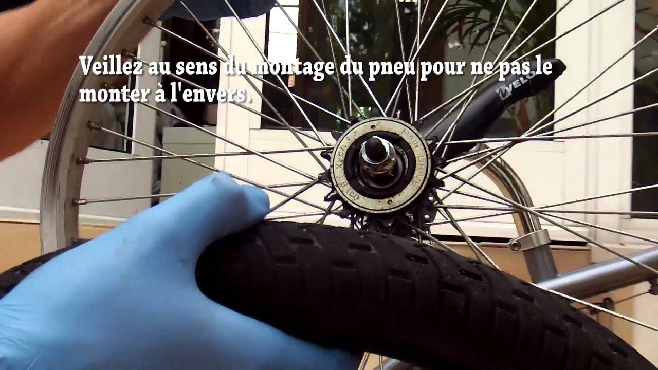 Changer chambre air v lo bmx de a z youtube for Chambre air velo
